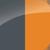 Серо-оранжевый