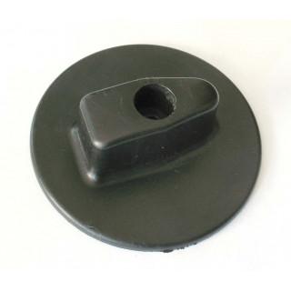 Ручка управления топливным краном (черная), пластик