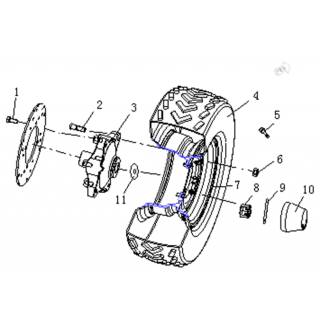 Запчасти передних колес