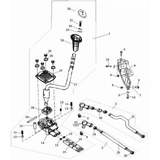 Запчасти механизма переключения передач