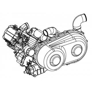 Двигатель комплект