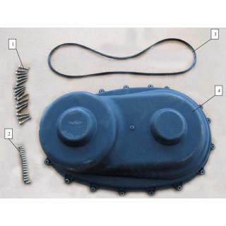 Запчасти крышка и ремень вариатора
