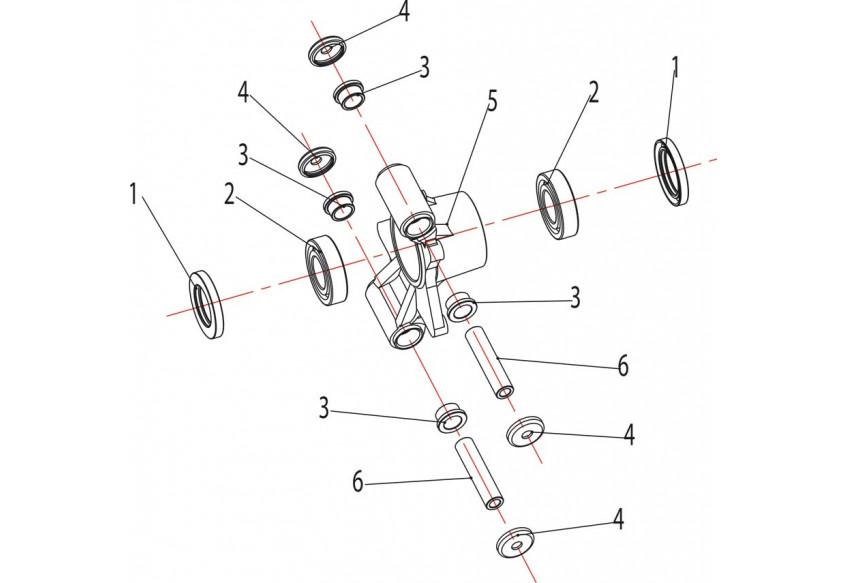 Запчасти ступицы задних колес