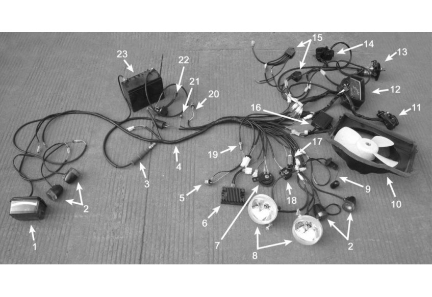 Запчасти жгута электропроводки