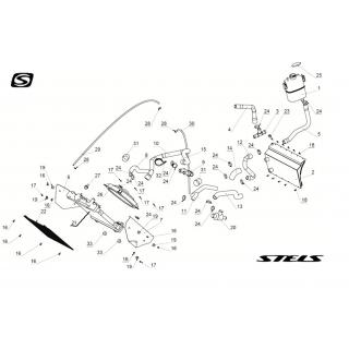 Запчасти системы охлаждения двигателя
