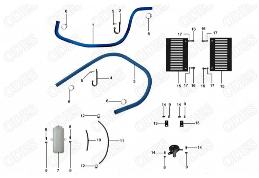 Элементы систем охлаждения