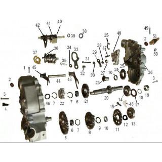 Механизм переключения передач часть1