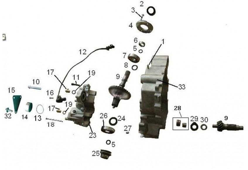 Механизм переключения передач часть2