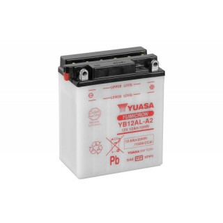 Аккумулятор YUASA YB12AL-A2 с электролитом