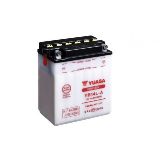 Аккумулятор YUASA YB14L-A