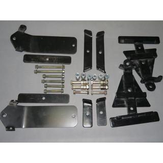 Комплект кронштейнов крепления гусениц для ATV №5 (Yamaha Grizzli)