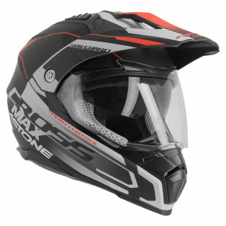 Шлем CROSSMAX ROAD NOIR/GRIS