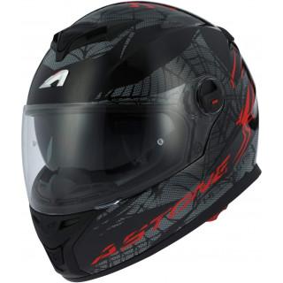 Шлем GT800 SPIDER red black