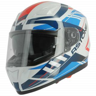 Шлем GT900 STREET BLANC/BLEU/ROUGE