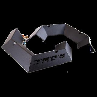 Накладки металлические бампера RJWC 1121