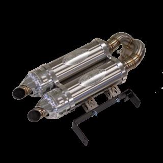 Глушитель двойной RJWC 1337 для квадроцикла Can-Am Maverick X3 Turbo