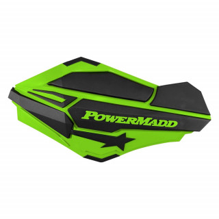 """Ветровые щитки для квадроцикла """"Powermadd"""" серия Sentinel, зеленый/черный"""
