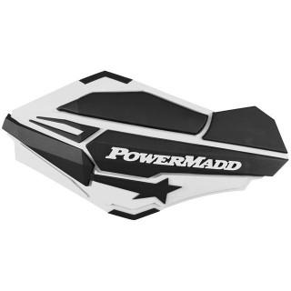 """Ветровые щитки для квадроцикла """"Powermadd"""" серия Sentinel, белый/черный"""