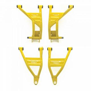 Гнутые рычаги Yellow Pro для Stels Guepard желтые