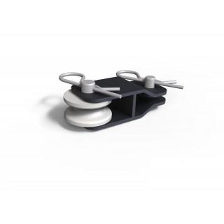 Блок троса (снегоотвал) + комплект крепежа