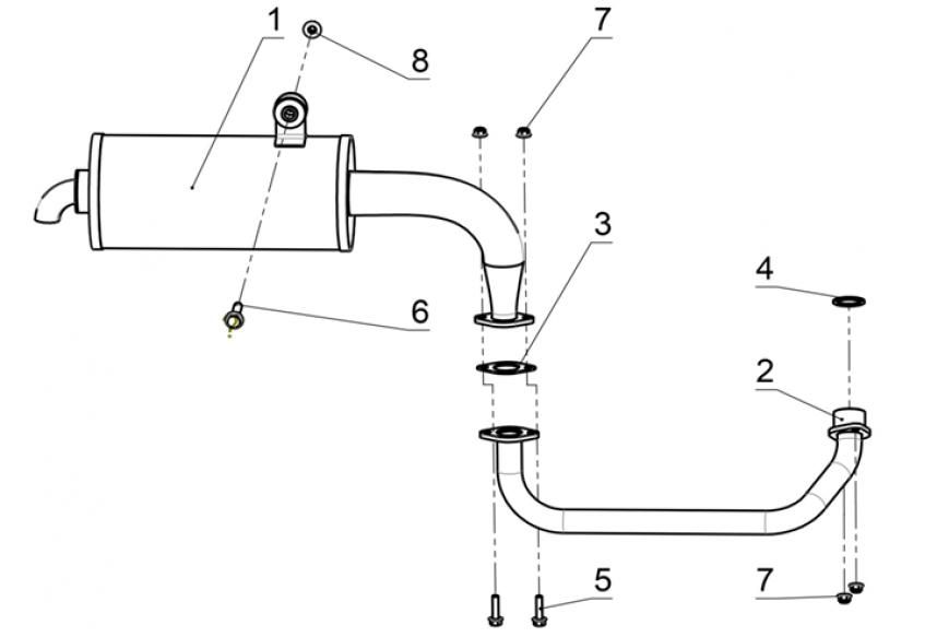 Система выпуска газа