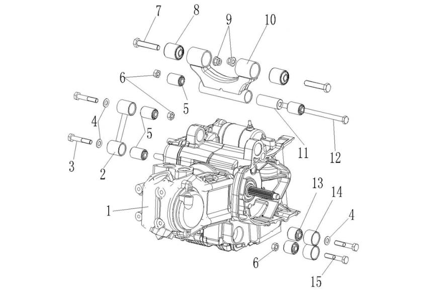 Двигатель 300 с.с.