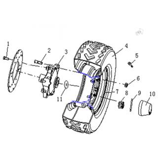 Колеса передние