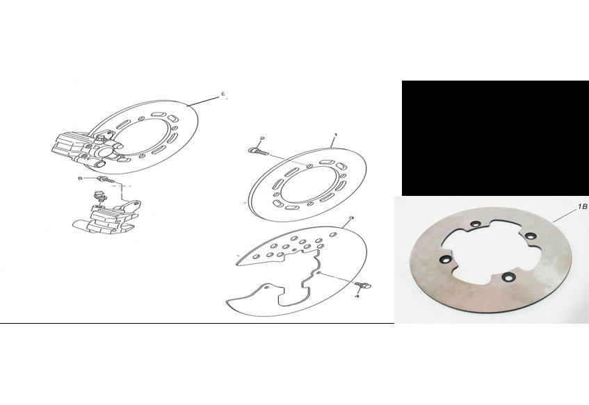 Тормозной диск (передний тормоз)