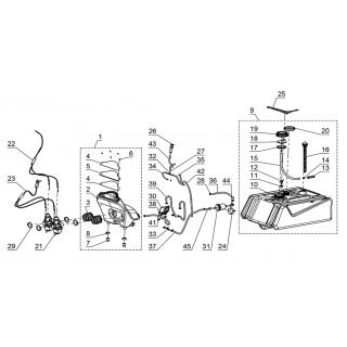 Система подачи топлива двигателя