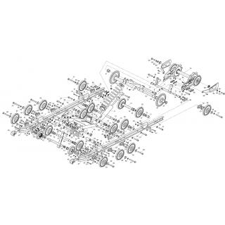 Движитель гусеничный 600L, 800L