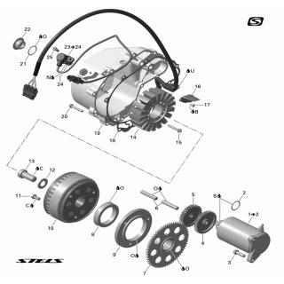 Электрооборудование ЕРМАК 800сс