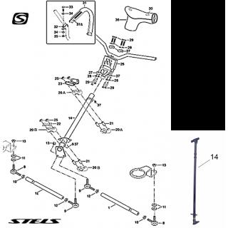 Рулевое управление VIKING 800 2.0