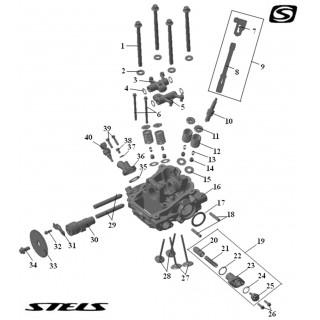 Головка цилиндра ДВС (задняя)