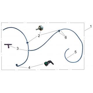 Система дренажная топливного бака