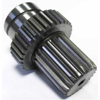 Вал вторичный переднего редуктора, сталь, LU022271
