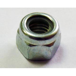 Гайка самоконтрящаяся М5х0,8мм (нейлон), сталь, LU075195