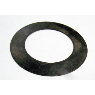 Шайба регулировочная выходного вала коробки передач (25.1х40.0х0.35мм), сталь, LU075261