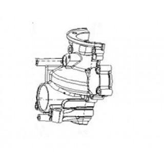 Крышка коробки передач правая, ал.сплав (в к-кте с LU075254), LU075264