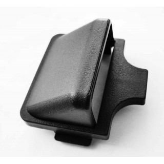 Заглушка декоративная узла крепления переднего багажника, пластик, JU065013