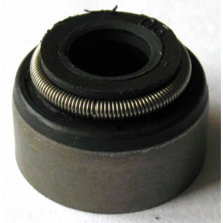 Колпачок маслоотражательный (6х11х13x8мм), резина, LU017548