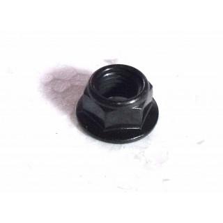 Гайка с фланцем ребрист.M10х1.25мм, сталь, LU016616