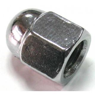 Гайка колпачковая, с фланцем 6х1.0мм, сталь, LU030957