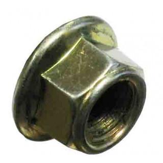 Гайка с фланцем ребрист.M12х1.25мм, сталь, LU016332