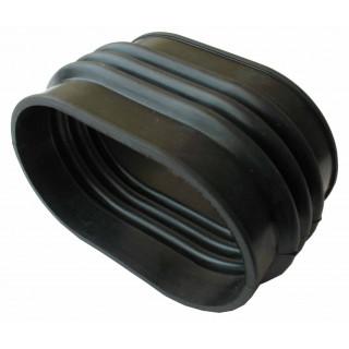 Патрубок переходной вентиляции вариатора, резина, LN001541