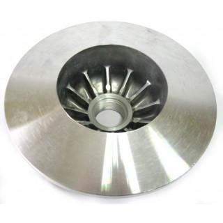 Половина шкива ведомого вала, неподвижная, сталь, LU018326
