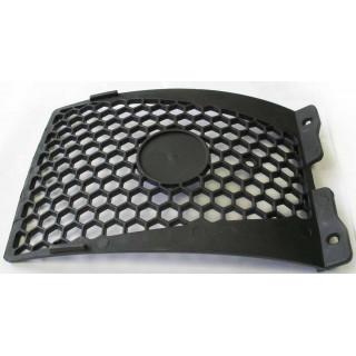 Щиток облицовочный бампера 2, пластик, LU018638