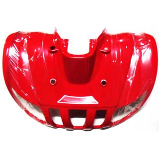 Щиток кузова облицовочный передний, верхний (красный), LU027196