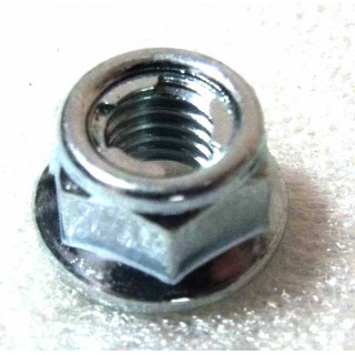 Гайка с фланцем самоконтр. М6х1.0 мм, сталь, LU013754