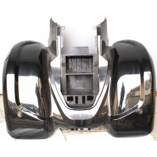 Щиток кузова облицовочный задний, верхний (красный), LU027226