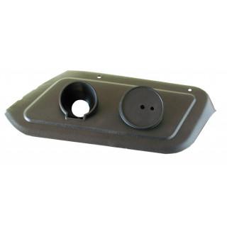 Щиток крепления фонаря указат.поворота и габаритов, левый, пластик, LN001552